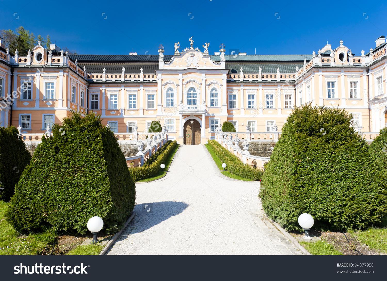 Nove Hrady Palace, Czech Republic Stock Photo 94377958 : Shutterstock.