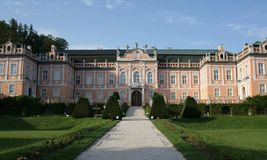 Nove Hrady Palace Stock Photos, Images, & Pictures.