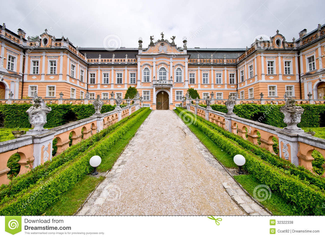 Nove Hrady Palace, Czech Republic Royalty Free Stock Photos.