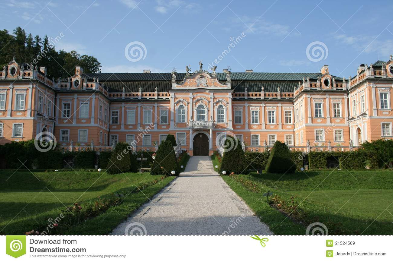 Castle Nove Hrady Royalty Free Stock Images.