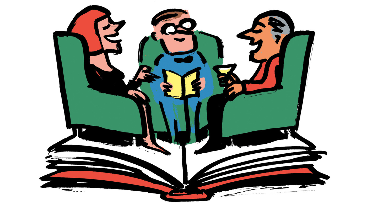Now You're Talking! The Year's Best Book Club Reads : NPR.