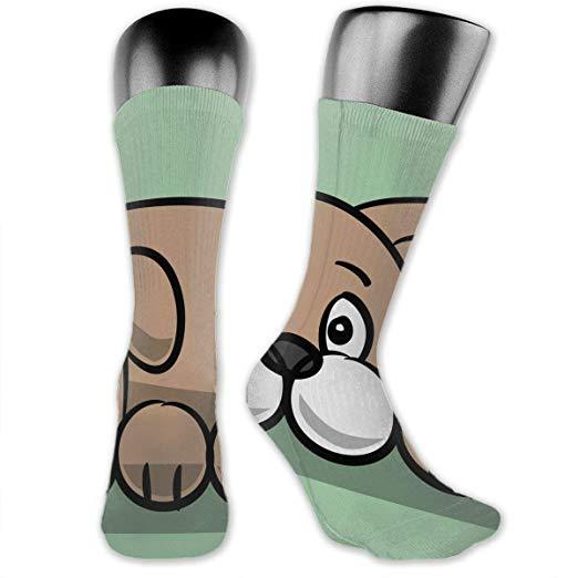 Amazon.com: Funny Novelty Crew Socks Hippo Clipart Easy.
