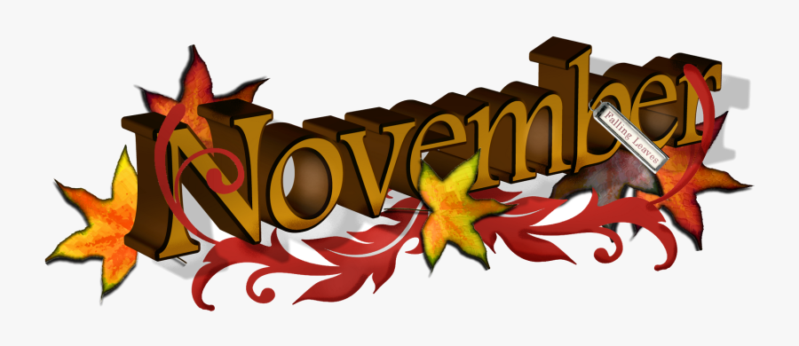 November Free Banner Cliparts Clip Art Transparent.