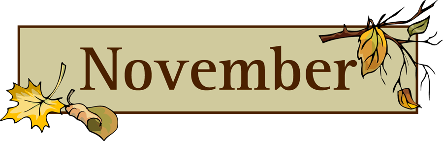 November Banner Cliparts Free Download Clip Art.