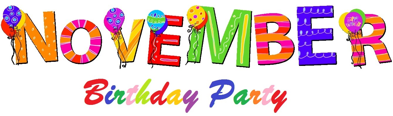 November Birthday Clipart (103+ images in Collection) Page 1.