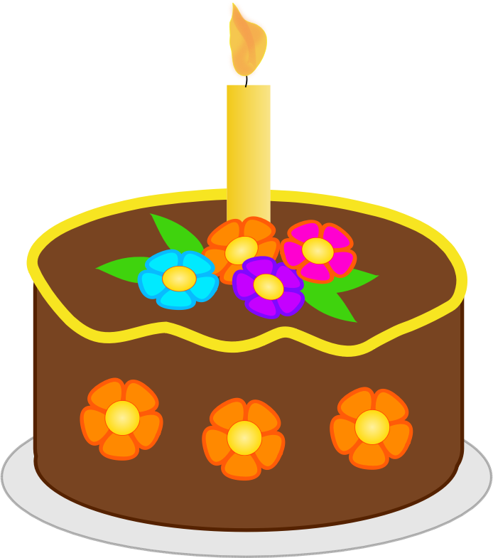 Birthday cake clip art november.