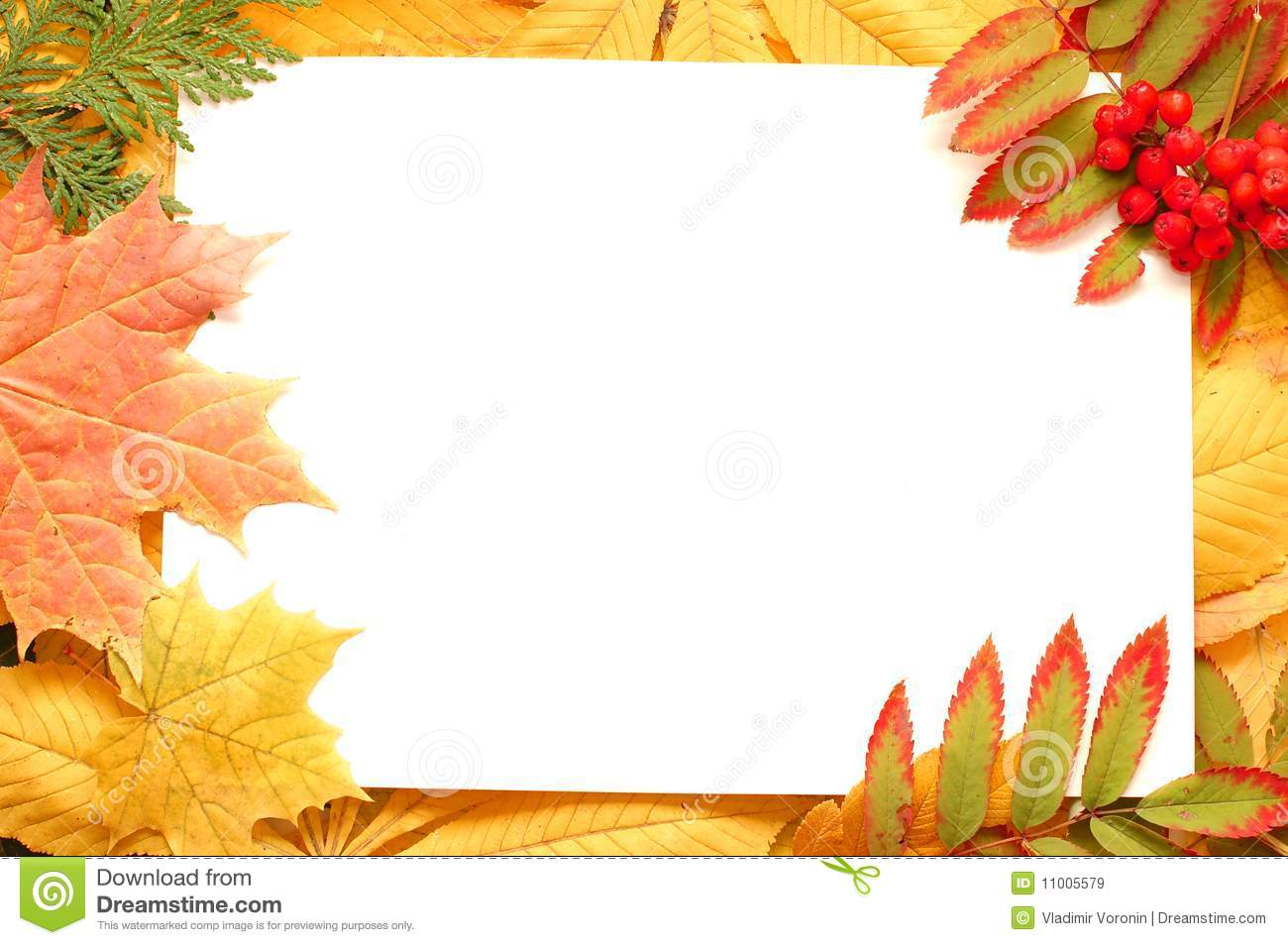 November Border Clipart Free.