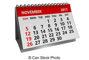 November calendar clipart 1 » Clipart Station.