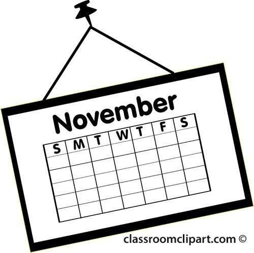 November calendar clipart 1 » Clipart Portal.