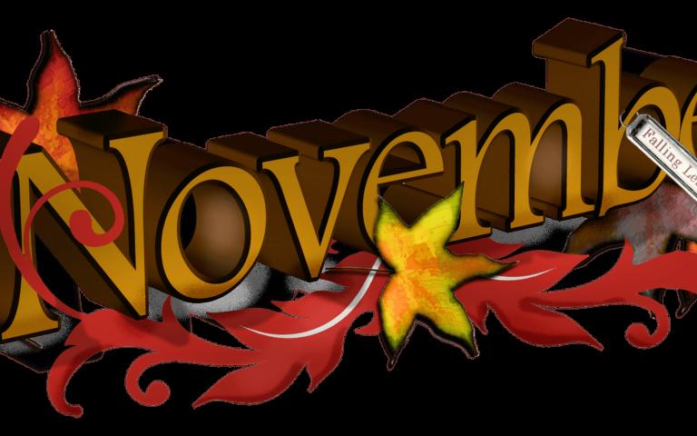 Cute November Creative Clipart.