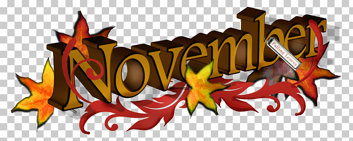 November , November s, November art PNG clipart.