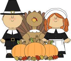 Preschool November Clipart.