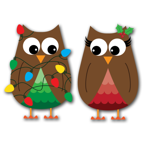 Free Winter Owl Clipart.