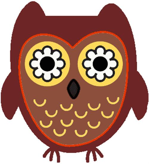 november owl clipart #19