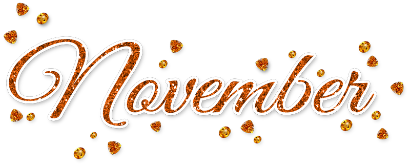 November PNG Transparent Picture #50790.