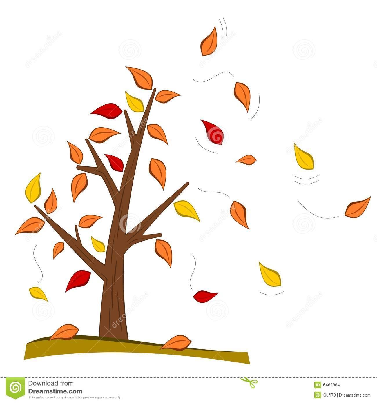 November Tree Clipart.