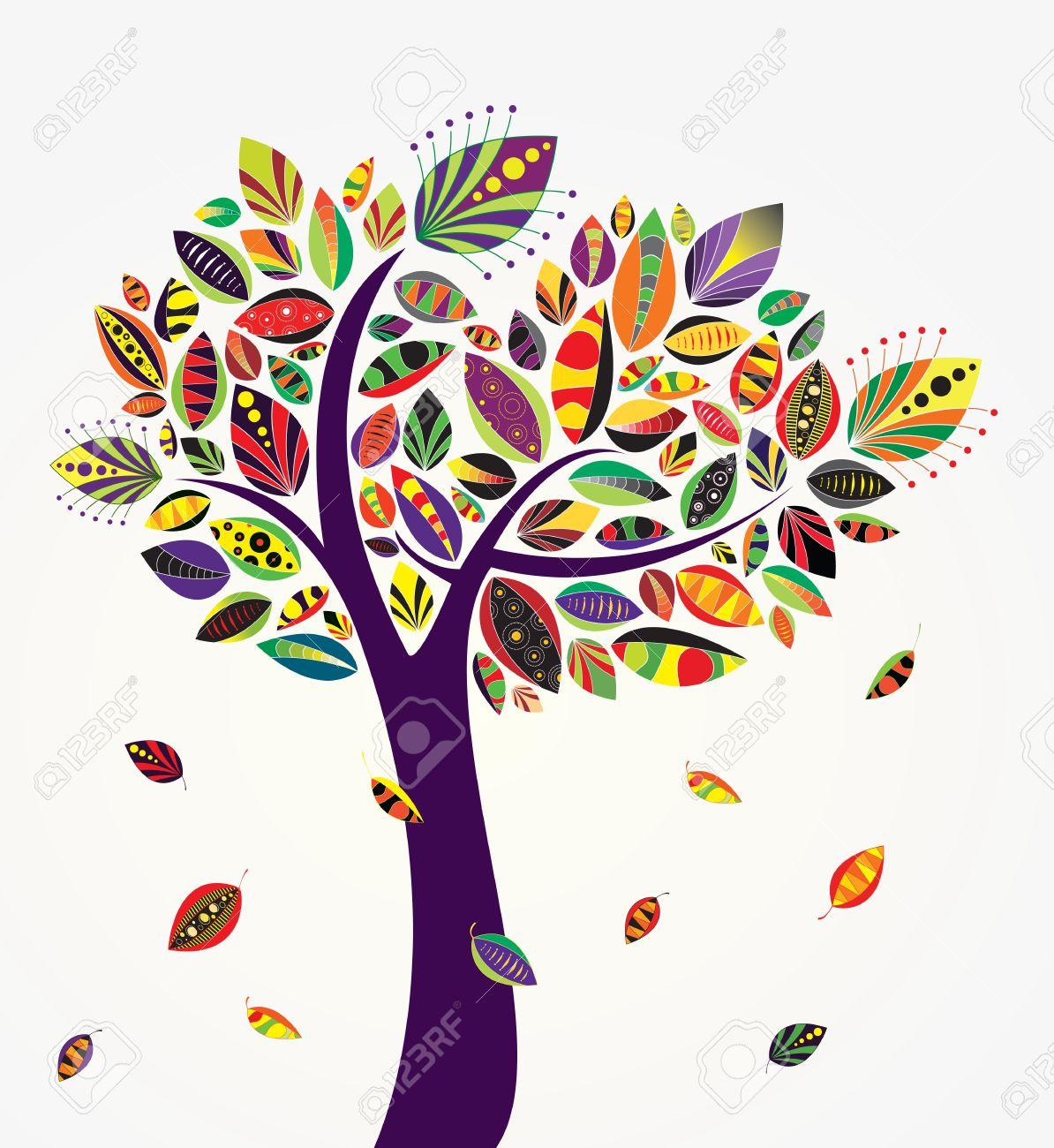 november tree clipart #19
