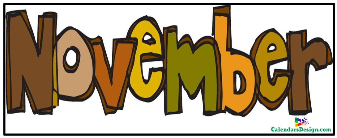November Clipart Free Download.