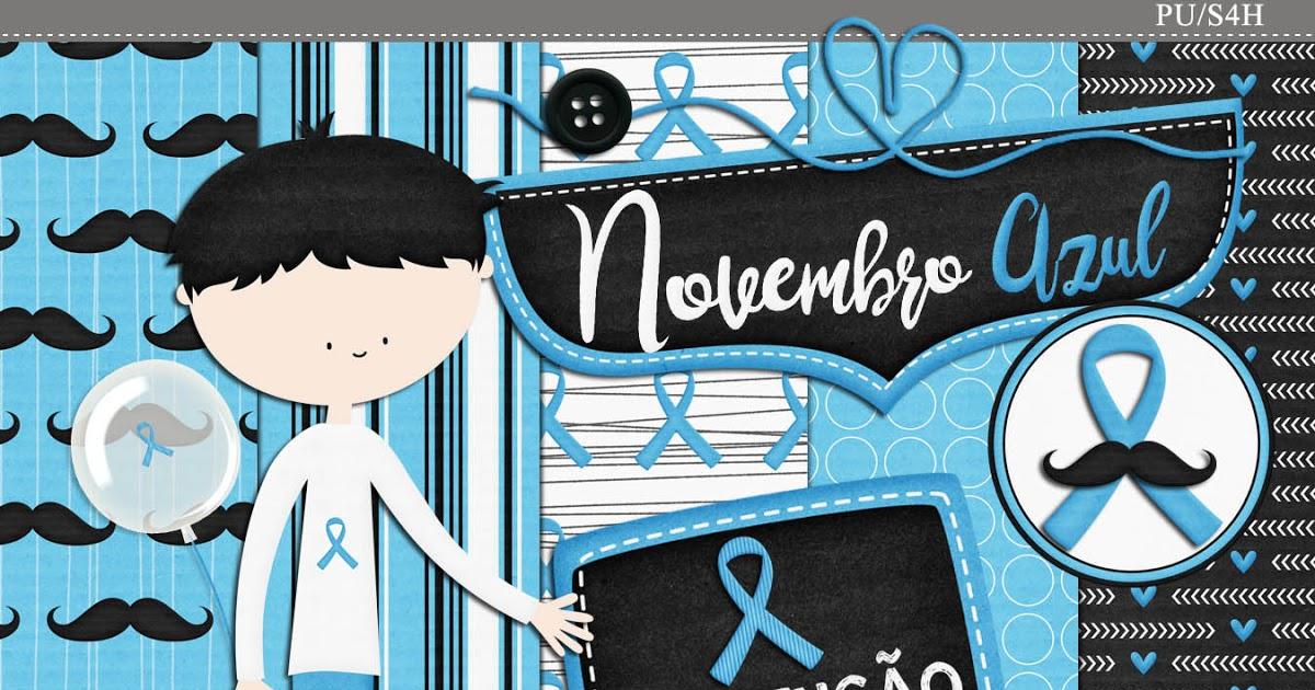 Kit digital Outubro Rosa e Novembro azul free para baixar.