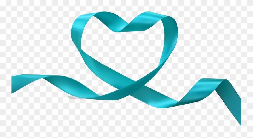 Heart With Ribbon Clip Art.