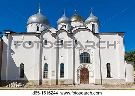 Stock Photo of Russia, Novgorod Oblast, Veliky Novgorod, Novgorod.