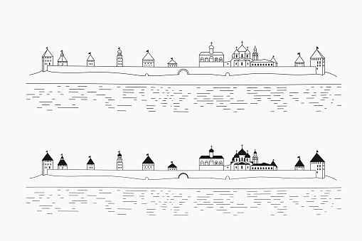 Novgorod Clip Art, Vector Images & Illustrations.