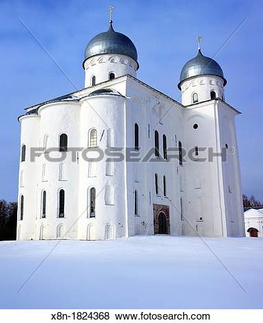 Pictures of St George's Cathedral, St George's Yuriev monastery.