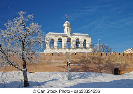 Drawings of VELIKY NOVGOROD, RUSSIA.
