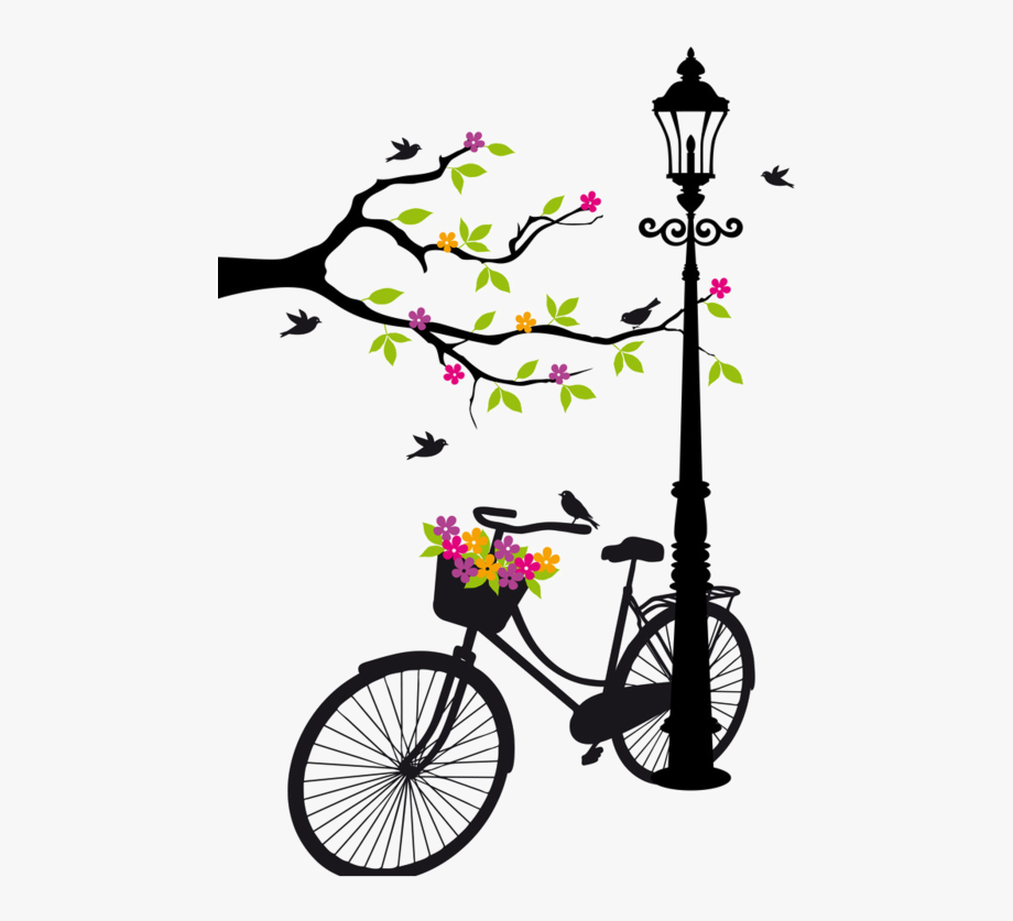 Biking Clipart Wedding.