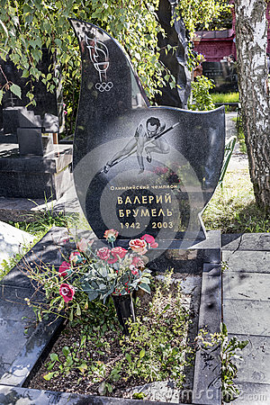 Novodevichy Cemetery Is One Of The Most Famous Burial Sites In.