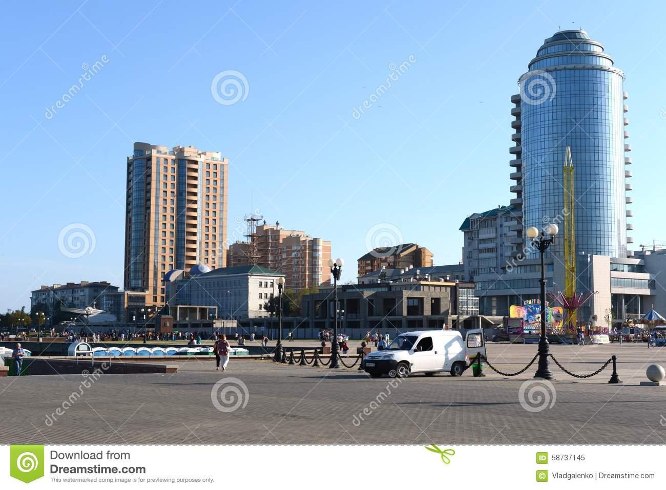 Novorossiysk Is A City On The Coast Tsemess Bay Of The Black Sea.