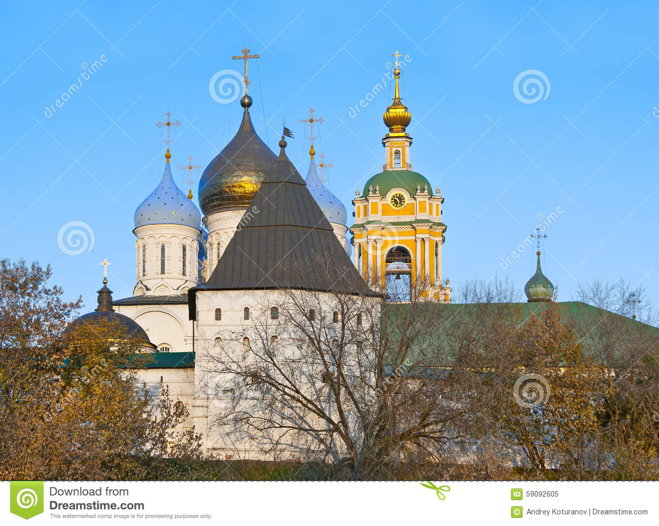 Old Russian Architecture Stock Photo.