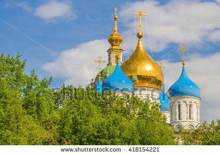Novospassky Monastery Lizenzfreie Bilder und Vektorgrafiken kaufen.