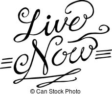 Live now Stock Illustrations. 590 Live now clip art images and.
