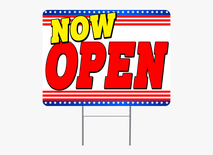 Now Open Inch Sign With Display Options , Free Transparent.