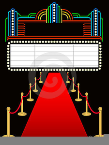 Now Showing Marquee Clipart.