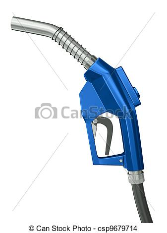 Drawing of Fuel nozzle.