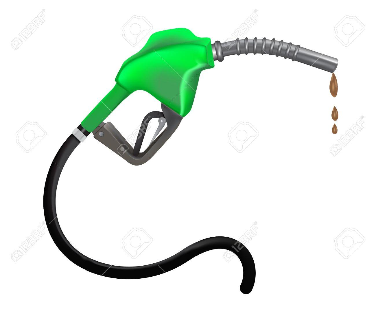 Gas nozzle clipart.