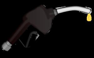 Petrol pump nozzle clipart.
