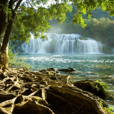 Krka waterfalls tour from Split.