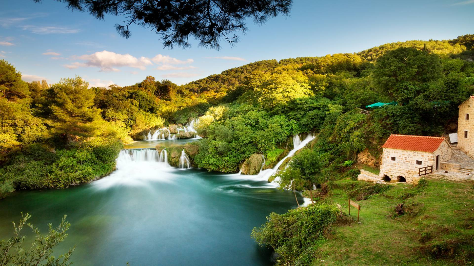 Krka waterfalls tour from Split.