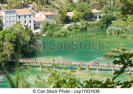 Stock Photos of NP Krka, Croatia.