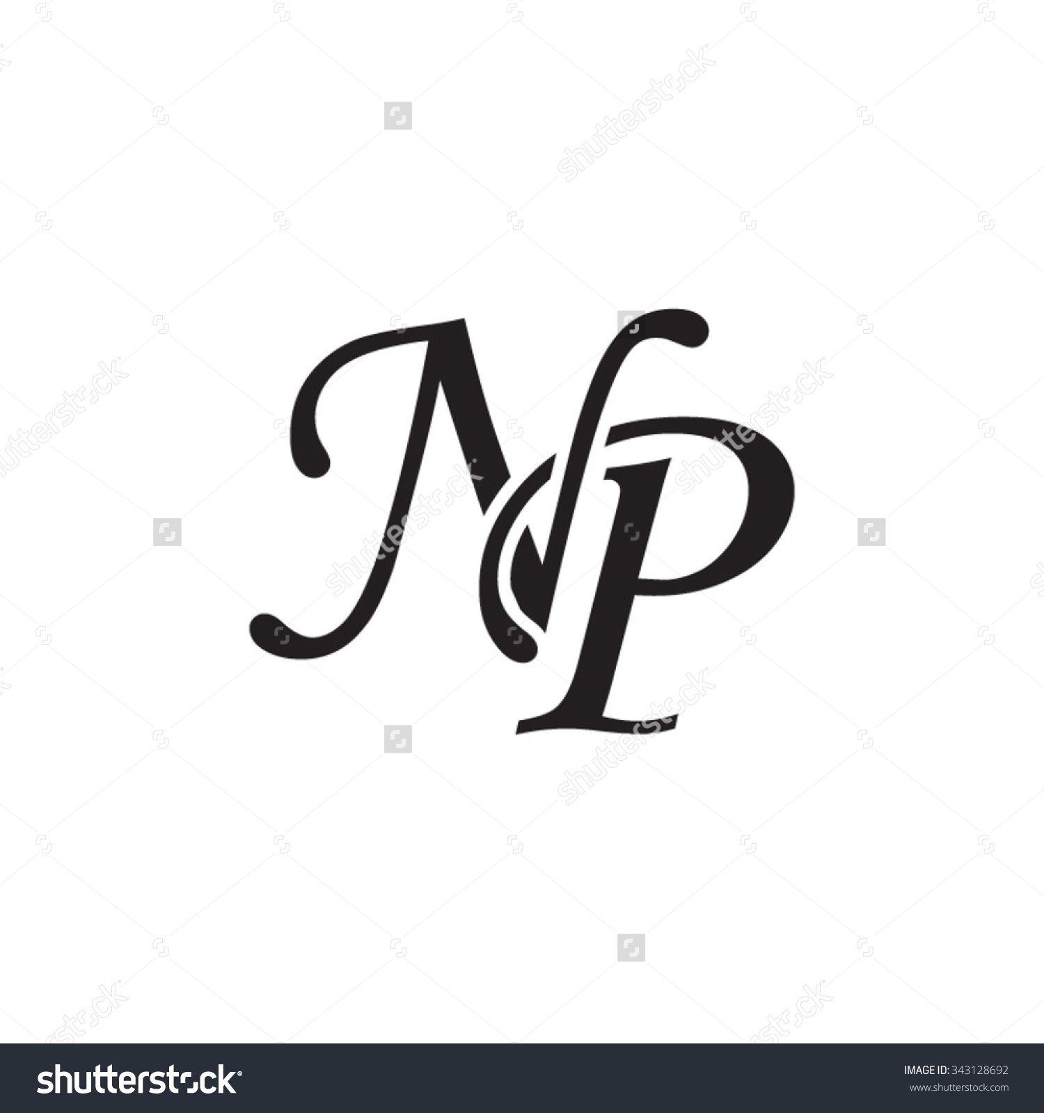 NP initial monogram logo.