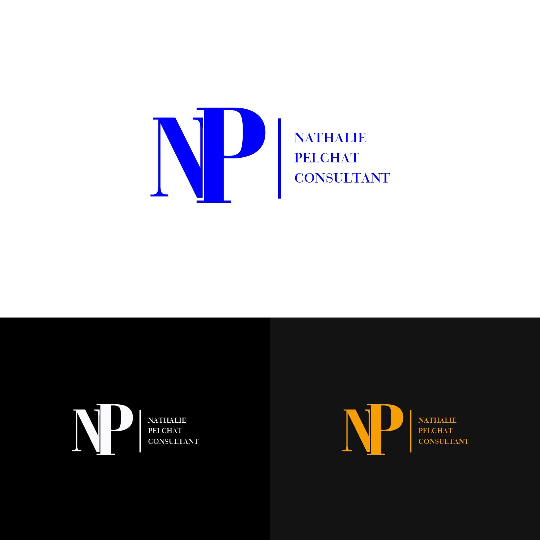 Elegant, Modern, Consulting Logo Design for Nathalie Pelchat.