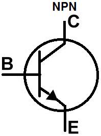 Npn Transistor Symbol.