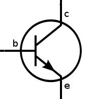 Circuit Symbol Of Npn Transistor.