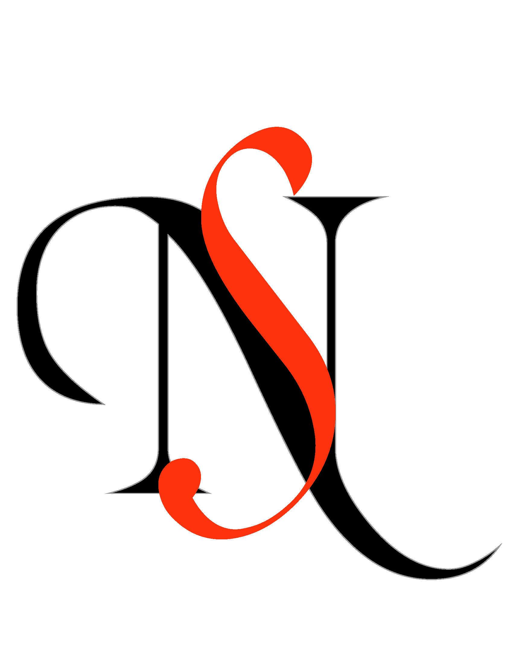 monogram sn.