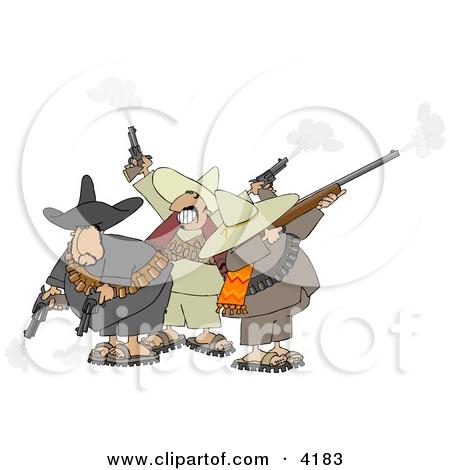 Cartoon of a 38 Revolver Nub Hand Gun.