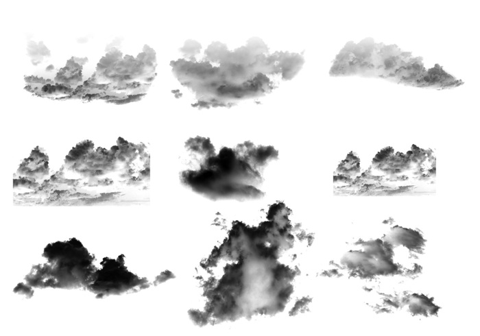 Cloud Brushes.