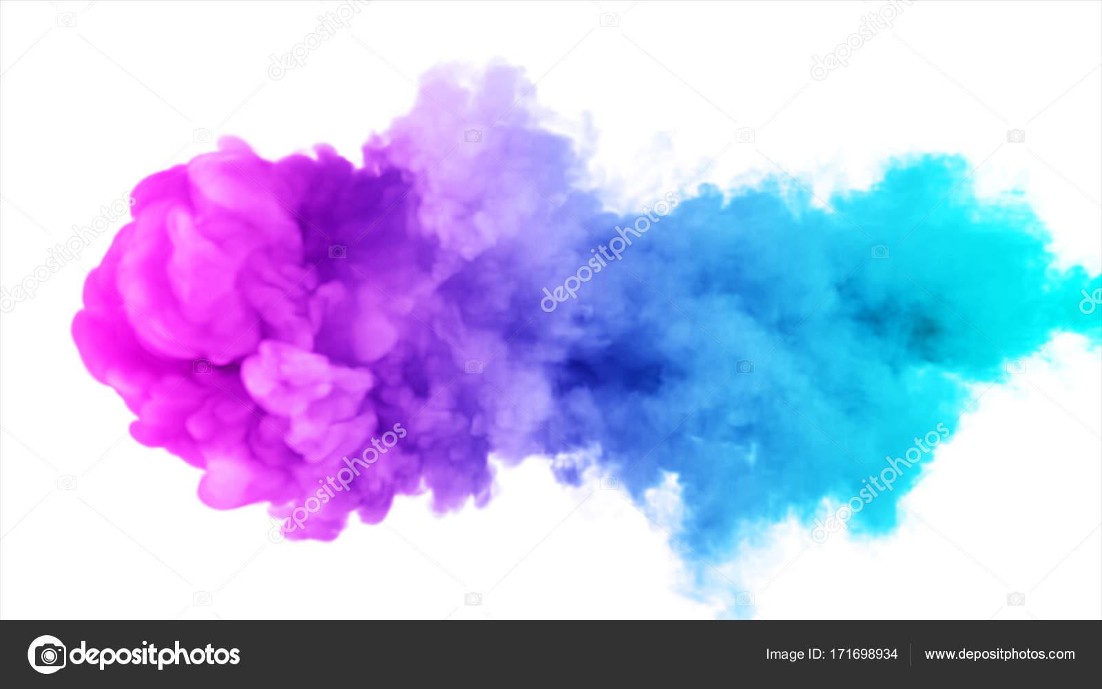 Nubes de colores png.